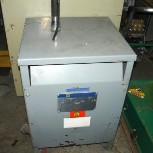Square D 15KVA isolation transformer. WS1522