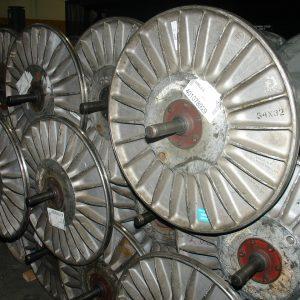 32 in, Aluminum warper beams. WS1540
