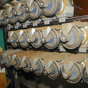IRO Nova 1000 yarn accumulators. WS1567