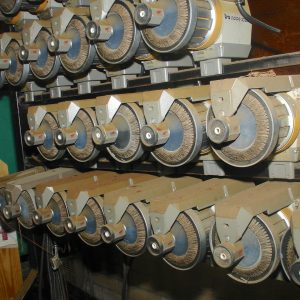 IRO Nova 1000 yarn accumulators. WS1567