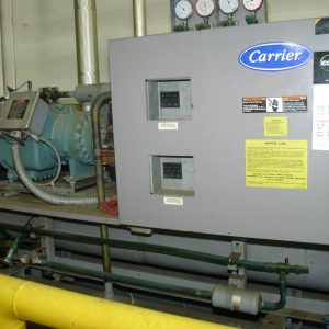 50 TON Carrier chiller. WS1669