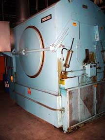 400# capacity Consolidated natural gas tumble dryer. WS1905
