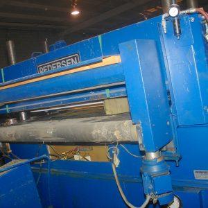 Pedersen hydraulic cutting press. WS1911