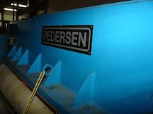 Pedersen hydraulic cutting press. WS1911