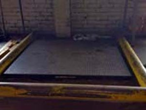 10,000 lb floor scales with digital read-out. WS1954