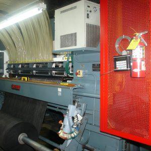 2 meter, 1/7th gauge Cobble ColorTec tufting machine. WS1979