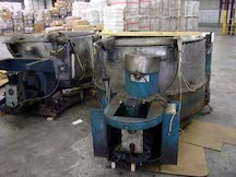 60 inch Rome foundry hydraulic extractor. WS2027