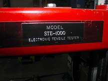 Testron Tensile Tester. WS2063