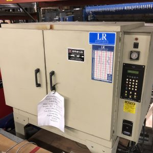 SOLD. Grieve Industrial Oven, Model NTR-1000. WS2277