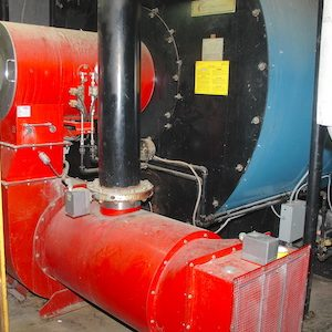 York-Shipley 600 HP boiler. Year of manufacture 2010. WS2307