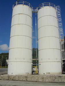 Pellet silos. 15ft X 48ft. WS2322