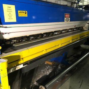 4 meter, 1/10th gauge CMC cut pile tufting machine. WS2328