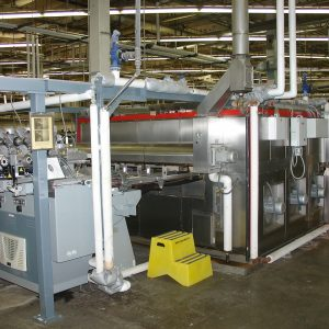 2011 Power Heat Set 48 end GVA 5009 heat setting line. WS2355