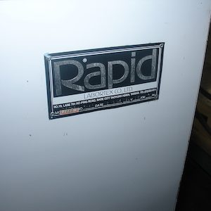 Rapid Dye Model 1000 Laboratory dyeing machine. WS2372