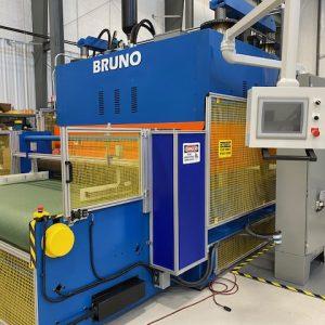 Bruno 500 Ton Toggle Press. WS2415
