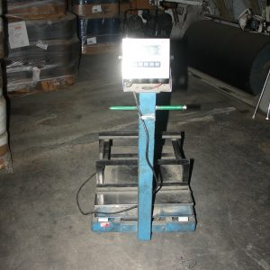 Portable platform scales. WS2421