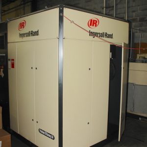 Ingersoll Rand 150 HP air compressor with air dryer. Model IRN150H25. YOM 2006. WS2442