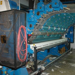 5 meter CMC  1/10th gauge ELCLG (Enhanced Loop Cut Loop Graphics) tufting machine. WS2452