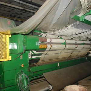 5 meter, 5/32nd gauge Cobble loop pile tufting machine. WS2456