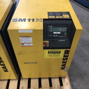 Kaeser SM11, 10HP Rotary Screw Air Compressor. WS2460