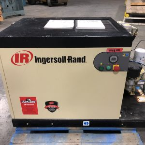 Ingersoll-Rand 7.5HP rotary screw air compressor. WS2462