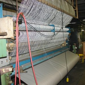 12 ft, 3/16th gauge Tuftco Card cut pile tufting machine. WS2470
