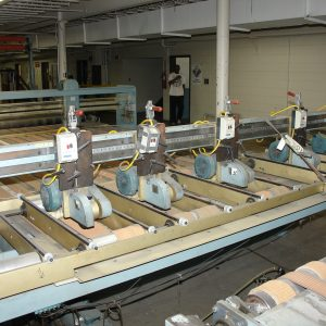 B & J Inspection and slitting table. WS2473