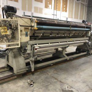 4 meter CMC 1/8th gauge Cut Pile Graphics tufting machine. WS2495