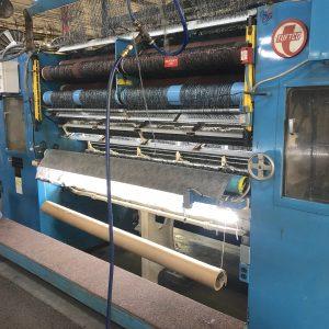2 meter Tuftco 5/64th gauge graphics loop tufting machine. WS2496