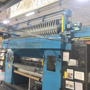 2 meter Tuftco 1/12th gauge scroll tufting machine. WS2499