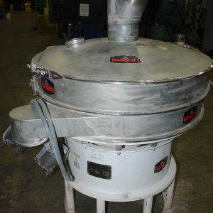 Kason 48 inch Stainless Steel Vibrating Screen Separator. WS2303