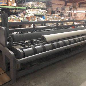 16 ft carpet or vinyl cut table. WS2502