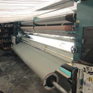 4 meter Tuftco 1/10th gauge graphics loop tufting machine. YOM 1993. WS2503