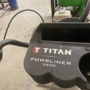 2017 Titan 3500 Powrliner paint sprayer/Line striper. WS2507