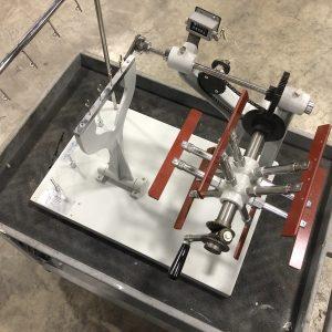 Qualitest Manual Wrap Denier Reel. Model QT-WR301.  WS2509.