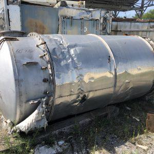 60 inch X 120 Inch Carbon Steel Silo, WS2518