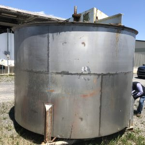 10 ft X 7 ft stainless tank, WS2521