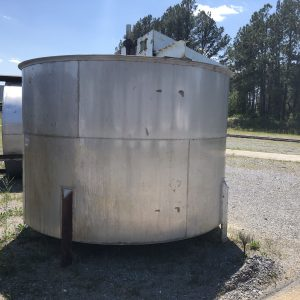 10 ft X 7 ft stainless tank, WS2522