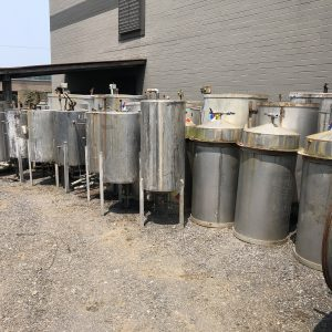 Stainless Steel Cone Bottom Tanks. WS2534